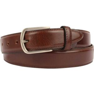 eXcorio  Men Formal Brown Genuine Leather Belt-012