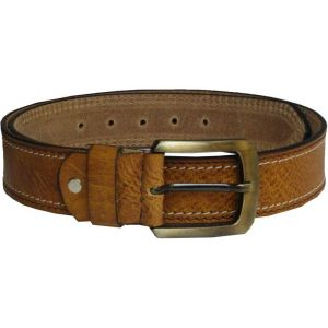 eXcorio  Men Casual Tan Genuine Leather Belt-013