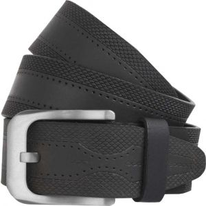 eXcorio  Men Formal Black Genuine Leather Belt-023