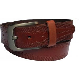 eXcorio  Men Casual Tan Genuine Leather Belt-023
