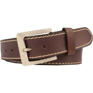 eXcorio  Men Casual Brown Genuine Leather Belt-028