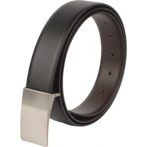 eXcorio  Men Evening Brown, Black Artificial Leather Reversible Belt