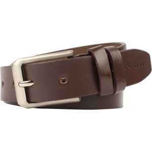 eXcorio  Men Casual Brown Genuine Leather Belt-007