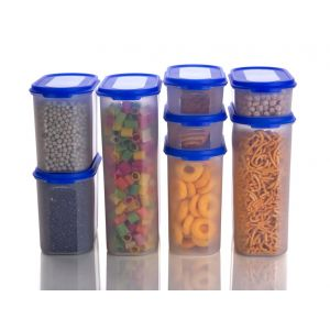 Darkyro Oval Container 8 Pcs