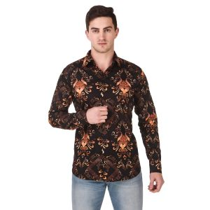 DesignUp Multicoloured  Printed Shirt for Men's-031