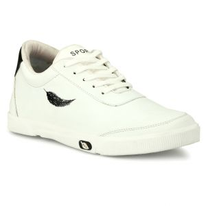 Prince White Sports Shoe for Men-009