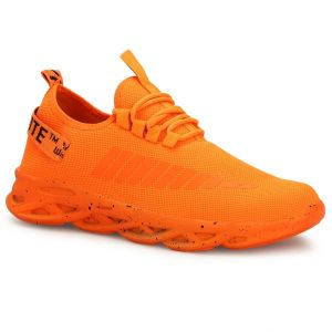 Prince Men's  Orange Running Walking Sneakers-007