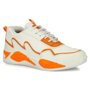 Prince Sports Shoe Orange/White for Men's-001