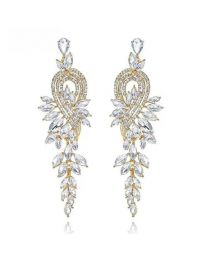 No Mercy Long Crystal Earring
