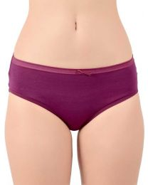 TEUSY  Women Hipster Maroon Panty  (Pack of 1)