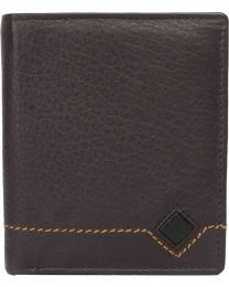 eXcorio  Men Brown Genuine Leather Wallet  (7 Card Slots)