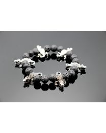 No Mercy Hunk Crocodile Bracelet