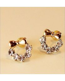 No Mercy beautiful Bow Studs Earrings