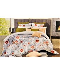 City Printed Double Bed Sheet