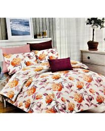 City Printed Cotton Bedsheet With Pillow Cover