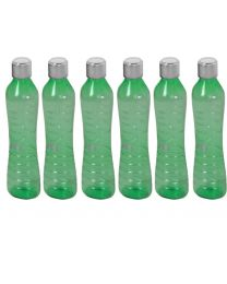 Nayasa Metallis Water Bottle 1000Ml (Pack of 6)