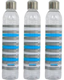 Nayasa Metallis Water Bottle(Pack of 3)