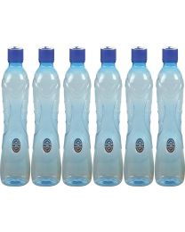 Nayasa Plastic Water Bottle( Pack of 6)1000ml