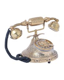 Vintage Brass Telephone