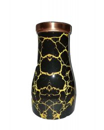 MSW Black Printed Bedroom Copper Bottle