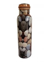 MSW Stone Printed Copper Bottle-1000ml