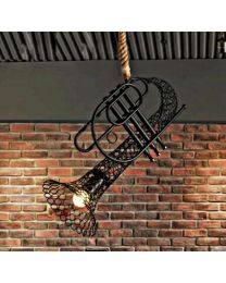 Hanging Trumpet light