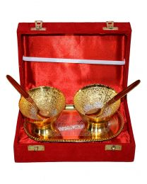 INC Gold Plated Bowl Set (Pack of 2)