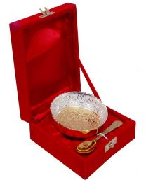 INC Gold & Silver Plated Bowl