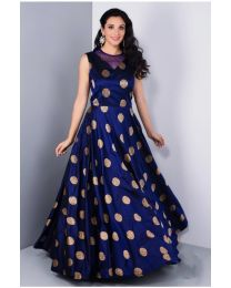 Kala Premium Blue color Printed Kurti for Women's-003