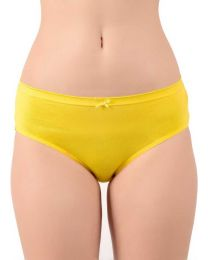 TEUSY  Women Hipster Yellow Panty  (Pack of 1)
