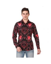 DesignUp Multicoloured  Printed Shirt for Men's-030