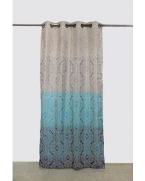 City Premium Multi color Long Curtains (7ft) Pack of 2