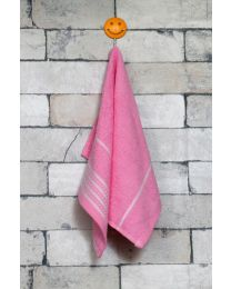 City Small Hand Towel Pink