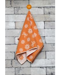 City Small Hand Towel Tangerine color