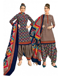 Harihar Multicolor Unstitched Suit for Women.