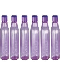 Nayasa Bold Water Bottle (Pack of 6) 1000ml
