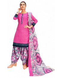 Harihar Light Pink  Unstitched Suit Material