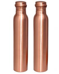 INC Plain Copper Water Bottle (Pack of 2)