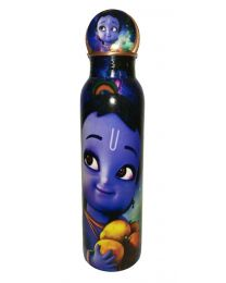 MSW Blue Printed Copper Bottle -1000ml