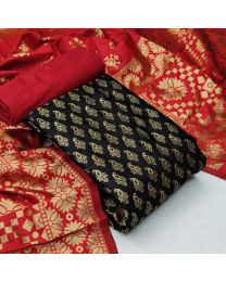 Nice Colours And Combinations Evergreen Beautiful Designer Unstitched Suit-034