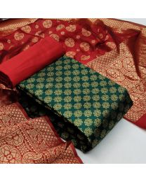 Nice Colours And Combinations Evergreen Beautiful Designer Unstitched Suit
