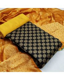 Nice Colours And Combinations Evergreen Beautiful Designer Unstitched Suit-043