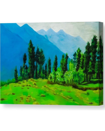 Mountain Calling-  Fine Art Canvas Print- Wall Art- Stretched