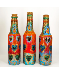 Hand-painted-decorative-glass-bottle-light-14