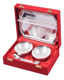 INC Silver Plated 2 Bowl Set