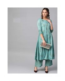 Navya Creations Kurti With Plazzo -NC-0086