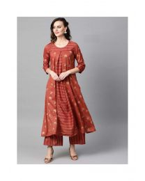 Navya Creations Premium Stylish Kurti With Plazzo- NC-0089