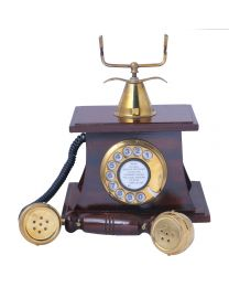 Vintage Wooden Telephone