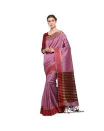 Amam Multicolor Cotton Silk with zalar Saree for Women's-0023