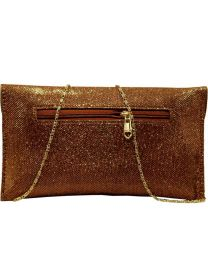 Classic Fashions  Party, Formal, Casual, Sports Brown Clutch